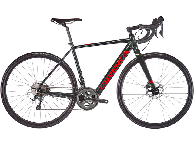 Orbea Gain D40, green/red